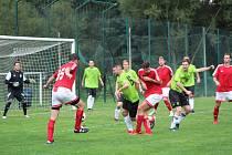Fotbalová A třída: Strunkovice - Netolice 7:0.