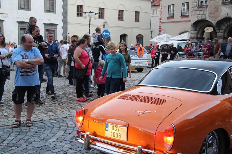 Jedna ze zastávek  South Bohemia Classic byla v Prachaticích.  A bylo se opravdu na co koukat.