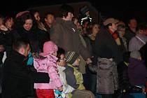 Divadelní spolek Heros sehrál na Boží hod vánoční živý betlém. Snažení nadšenců si nenechalo ujít více než sto přihlížejících diváků nejen z osad, ale i z širokého okolí.