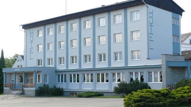Volarský hotel Bobík.