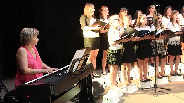 Koncert ZUŠ Volary se konal ve středu 31. května.