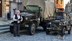 Jízda k výročí osvobození jihozápadních Čech americkou armádou