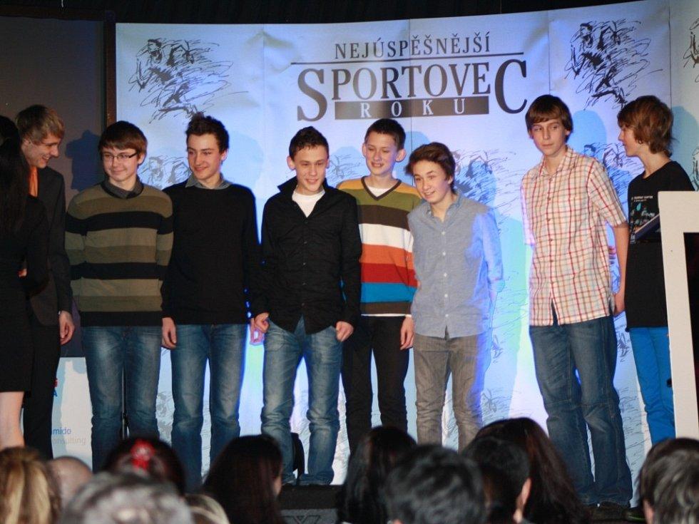 Třetím kolektivem mládeže byli prachatičtí fotbalisté.