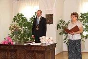 V prachatické obřadní síni přivítal starosta Martin Malý nové občánky města.