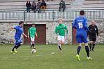 V okresním derby fotbalové I.B třídy zvítězili Lažišťští nad Záblatím přesvědčivě 5:1.