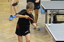 Do Lhenic se na kemp sjeli mladí stolní tenisté z celého Prachaticka.