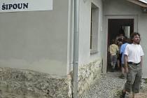 Nové centrum v Šipouně.