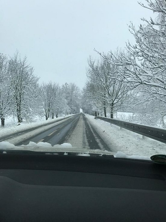 Cesta z Netolic na Oboru.