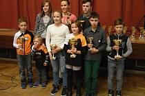 Úspěšní mladí triatlonisté ŠuTri Prachatice.