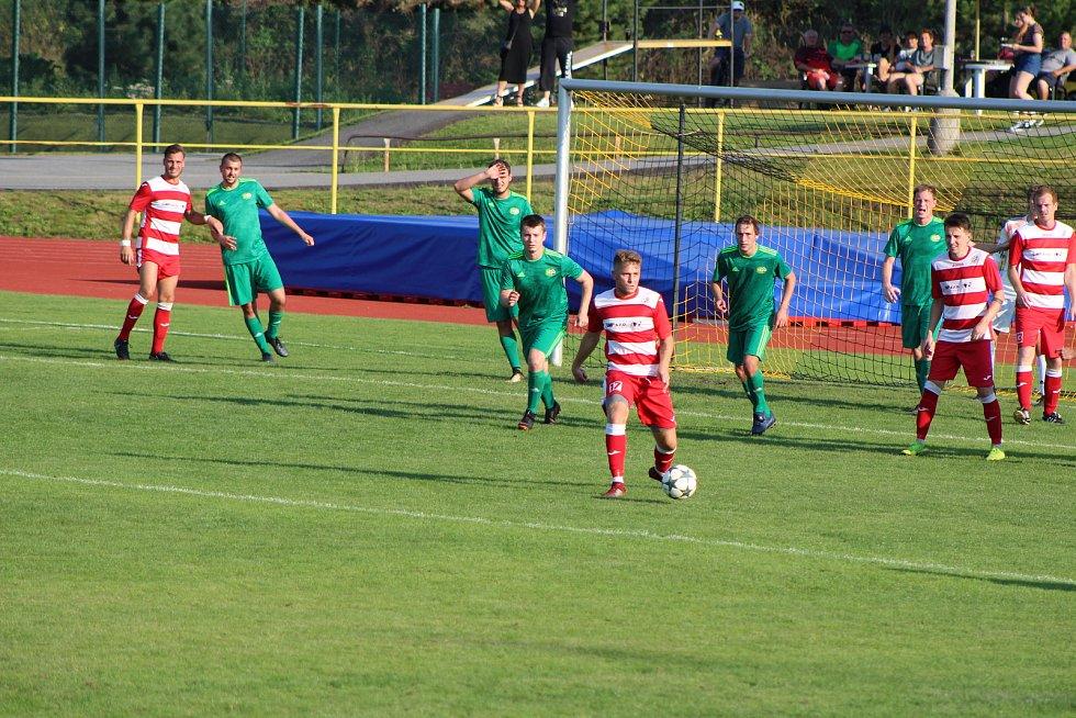 Fotbalová I.A třída: Prachatice - Lhenice 2:1.