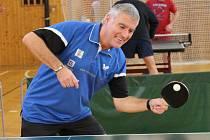 Pokračovaly okresní soutěže ve stolním tenise. Ilustrační foto.