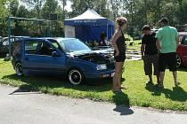 Sraz Volkswagenů na Podroužku.