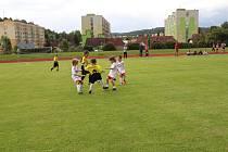 Přípravky si zahrály turnaj ve Vimperku.