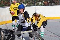 Hokejbalová aréna u rybníčku v Prachaticích bude o víkendu v obležení.