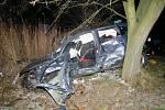 Vážná nehoda na křižovatce u Stopařky u Vitějovic na Prachaticku.