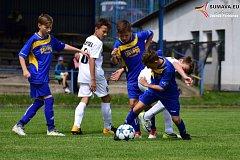 Mladší žáci Vimperka porazili Milevsko až na pokutové kopy.