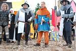V Kvildě si v sobotu připomněli historický spor o těžbu zlata.