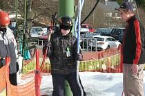 Ski areály jsou na víkend připraveny.