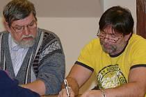 Petr Tesárek (vlevo) a Jaroslav Neužil