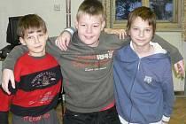 O zimních sportech jsme si povídali s Lukášem Záleským (10 let), Ladislavem Královským (10 let) a Robinem Cvrčkem (10 let).