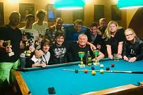 Kulečníkáři sehráli v Prachaticích turnaj dvojic v osmičce.