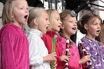 Podzimní slavnosti se v Prachaticích loučily s létem na Velkém Náměstí a v Parkáně.