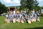 Zahradní slavnost a loučení s budoucími školáky si užily děti v Mateřské škole v Zahradní ulici.