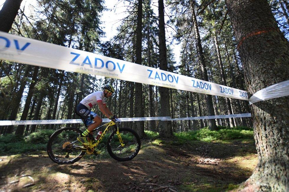 Český pohár XCO horských kol kadetů, masters a expert.
