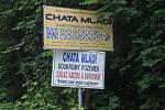 Chata Mládí za Zadově.