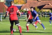 Vimperští fotbalisté podlehli doma Větřní 0:2.