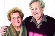 DIAMANTOVÁ SVATBA. Včera oslavili Jaroslava a Josef Maidlovi šedesát let manželství.