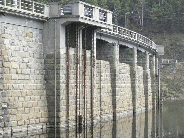 Husinecká přehrada