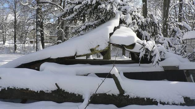 Vacovští se na zimu pořádně připravili. Ilustrační foto.