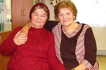 Terezie Horelicová (vlevo) a Marie Jakšová.