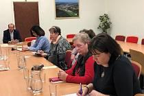 Sbor zdravotně postižených a seniorů, jako poradní orgán vedení města Prachatice, se sešel poprvé v roce 2020 na radnici.