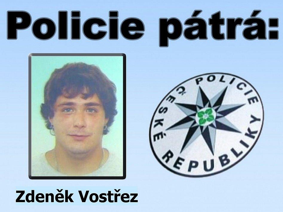 Hledaný Zdeněk Vostřez z Prachatic.