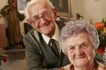 Manželé Valíčkovi jsou spolu již 65 let.
