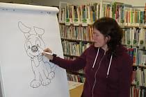 Program, který připravuje prachatická knihovna ve dnech prázdnin, děti baví.