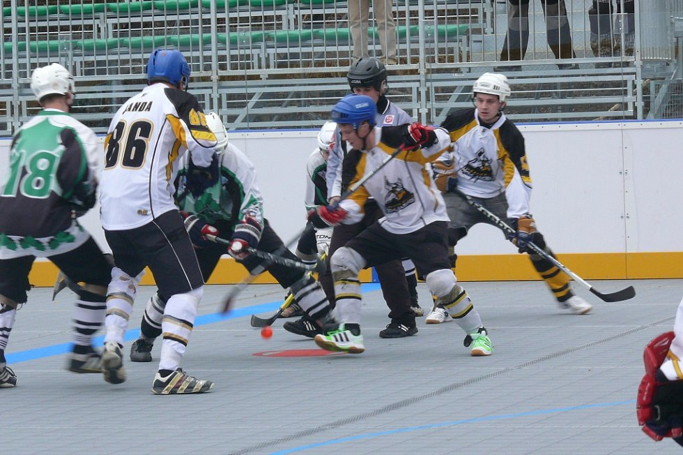 Highlanders B - Protivín 0:6.