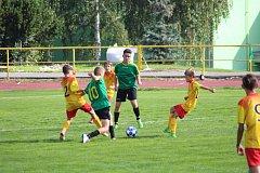 KP žáci: Tatran Prachatice - Meteor Tábor 7:0.