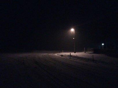 Cesta z Volar na Prachatice 12. 11. ve 21.10 hod.