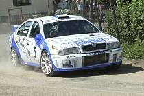 Karel Trněný vyhrál Rallye Prachatice