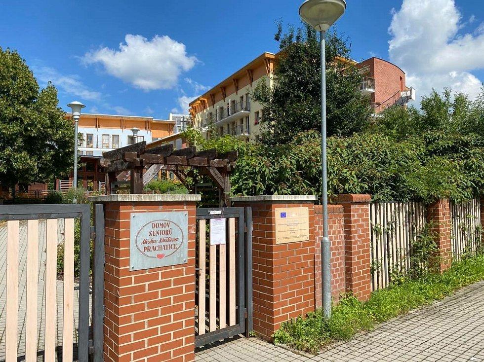 Návštěvy jsou prachatickém Domově seniorů Mistra Křišťana zakázané už od 28. července.