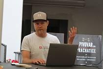 Michal Piloušek mladší představil zajímavosti okolo příprav ME v Xterra triatlonu v Prachaticích.