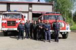 Dobrovolní hasiči z Nové Pece.
