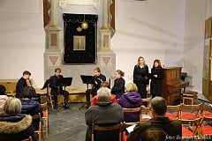 Vánoční koncert o třetí adventní neděli ve čkyňské Synagoze.