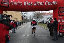 Štěpánský běh 2014 v Prachaticích.
