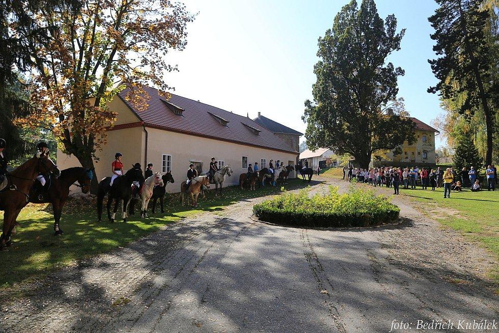 Hubertova jízda v Bohumilicích.
