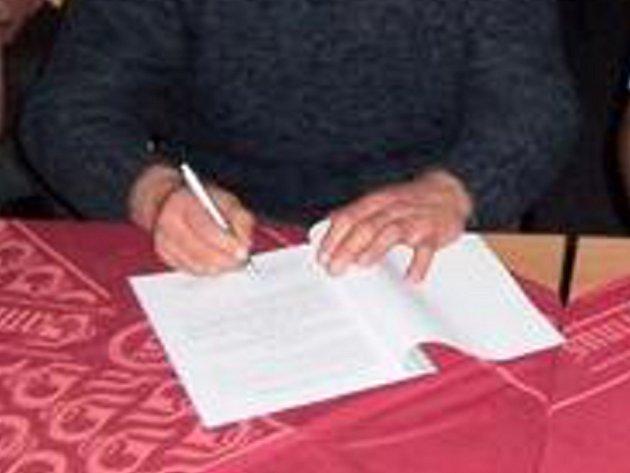 Petiční výbor svoji práci ukončil. Ilustrační foto.