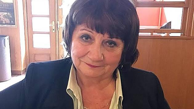 Věra Vávrová, zakladatelka sdružení.